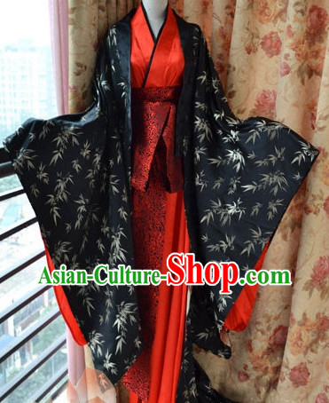 Asia Fashion Chinese Bamboo Hanfu Clothes