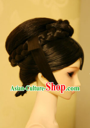 Traditional Chinese Princess Black Wig