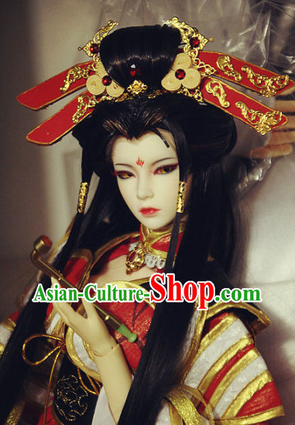 Chinese Traditional Empress Hairpieces Hair Jewelry Set