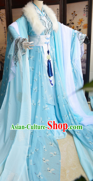 Chinese Ancient Princess Costumes Complete Set