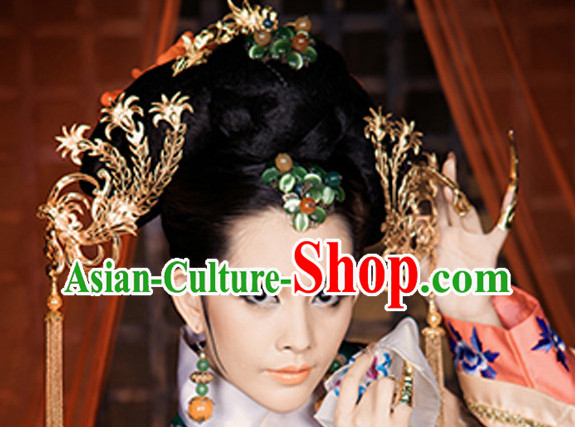 Chinese Princess Phoenix Handmade Hair Accessories