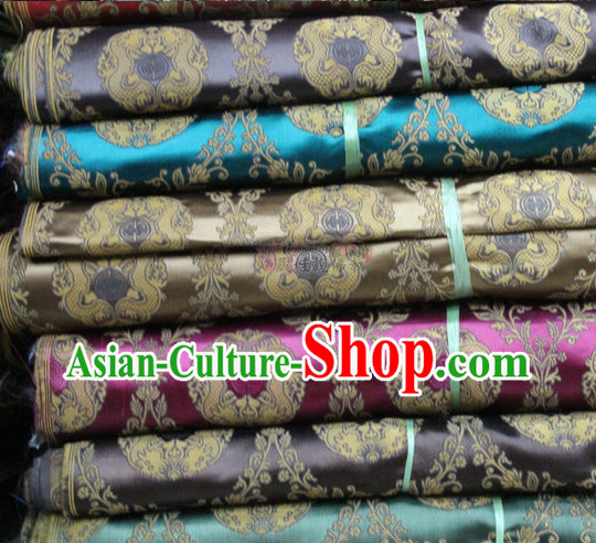 Chinese Brocade Upholstery Material Embroidered Fabric Dress Material