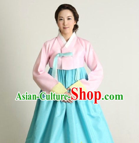 Korean Traditional Clothing Female Plus Size Dress Fashion Clothes Complete Set