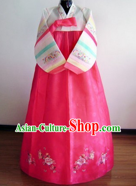 Korean Traditional Garment Female Plus Size Dress Fashion Clothes Complete Set
