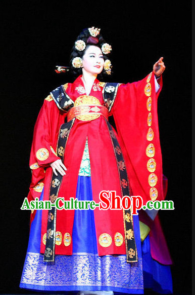 Korean Empress National Dress Costumes Traditional Costumes online Clothes Shopping