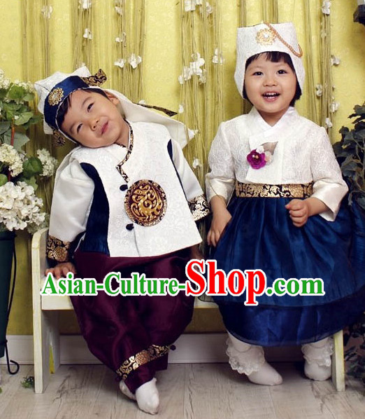 Korean Chlidren National Costumes Traditional Costumes online Shopping
