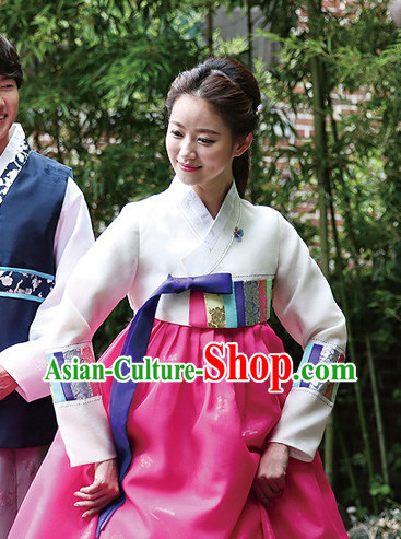 Korean Female National Costumes Traditional Costumes online Shopping