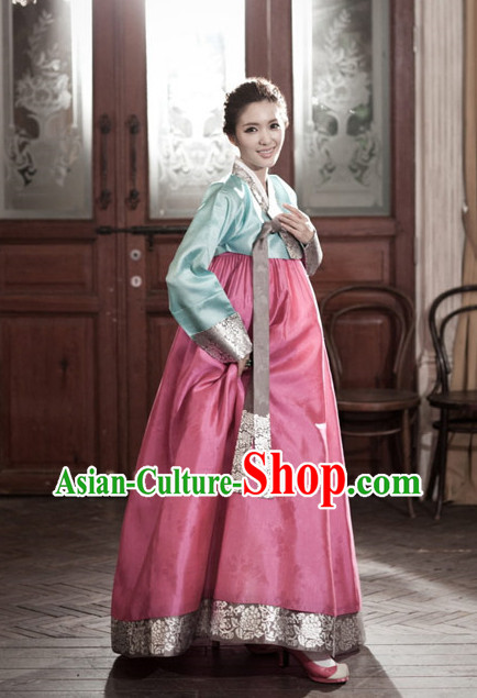 Korean Female National Dress Costumes Traditional Costumes Korean Style Fashion