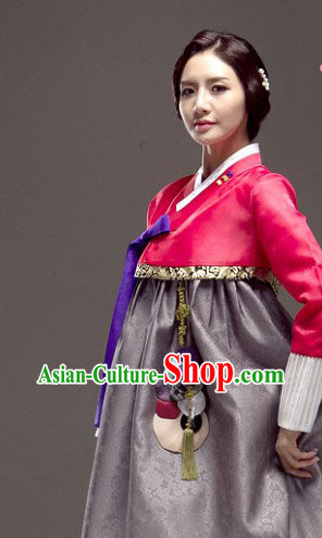 Korean Woman National Costumes Traditional Costumes Hanbok Dress online Shopping