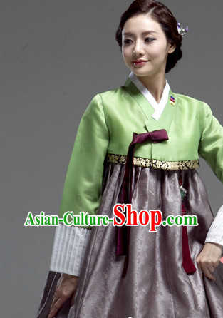 Korean Lady National Costumes Traditional Costumes Hanbok Korea online Shopping