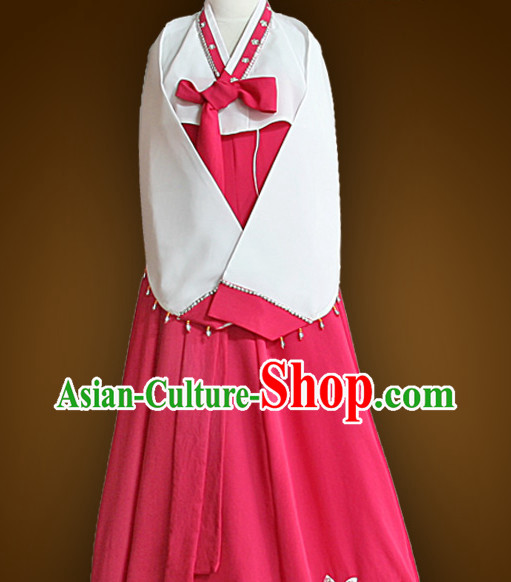 Korean Teenagers Dancing Costumes Hanboks online Clothing Shopping