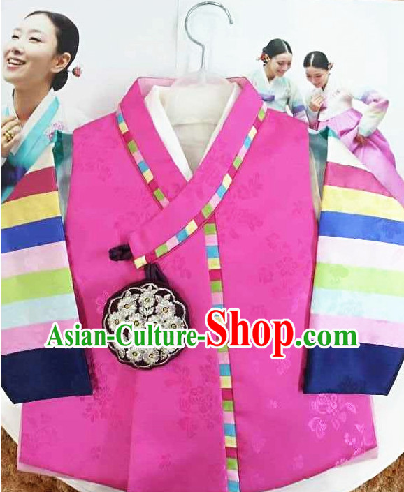 Korean Traditional Kids Clothing for Boys