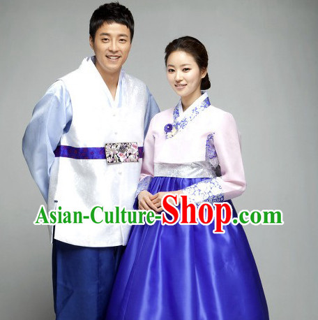 Korean Traditional Family Clothing 2 Sets