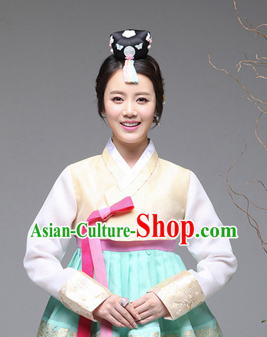 Traditional Korean Fashion Style Female Clothing Complete Sets