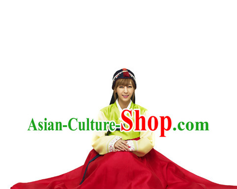 Traditional Korean Fashion Style Girls Adult Clothes Complete Set
