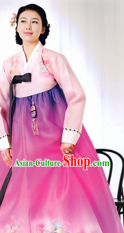 Korean National Costumes Traditional Dresses