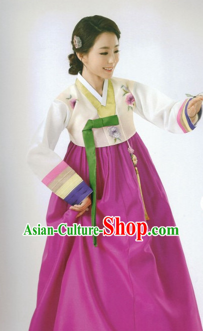Korean Women's Fashion online Apparel Hanbok Costumes Dress