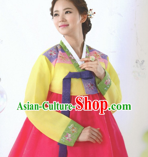 Korean Hanbok Mother Clothing Fashion Clothing Korean Traditional Dresses