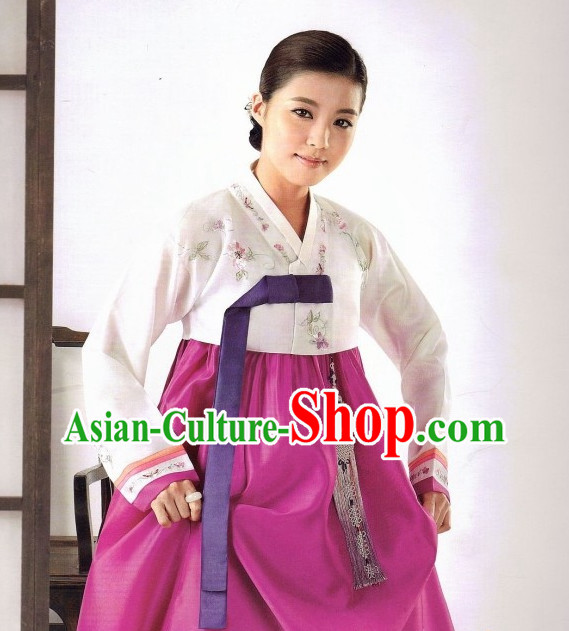 Korean Women Traditional Clothes Hanbok Dress online Shopping Free Delivery Worldwide