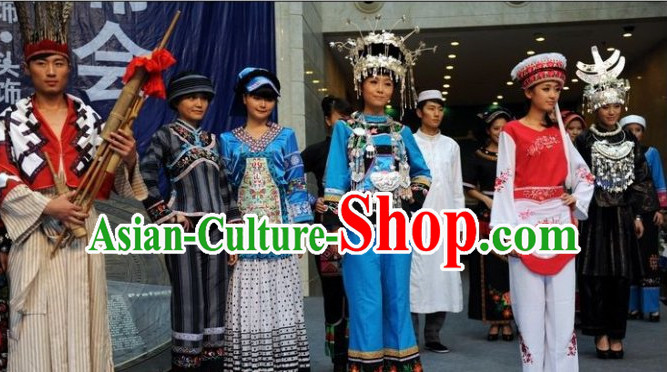 Custom Made Chinese Traditional Ethnic Minority Costumes