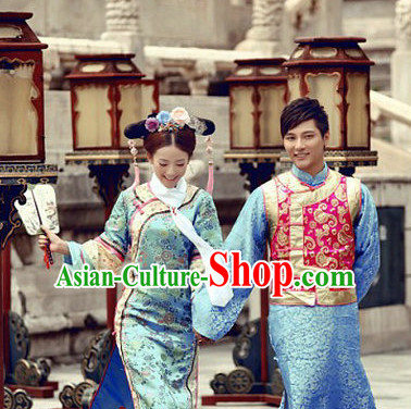 Chinese Lovers Mandarin Dress 2 Sets