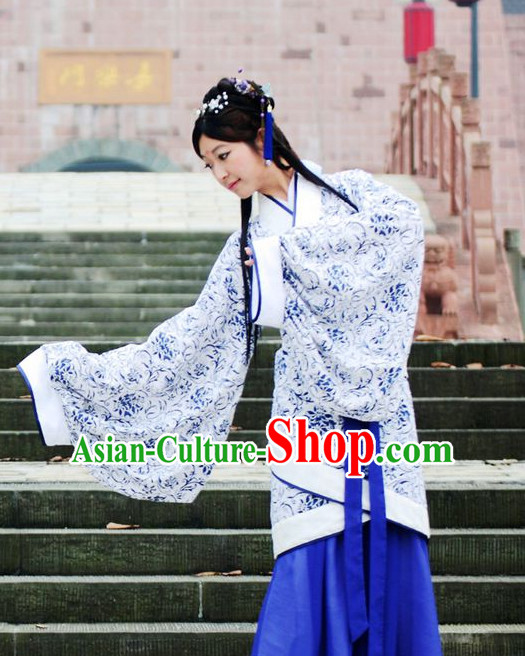 Traditional Chinese Han Clothing Free Delivery Worldwide