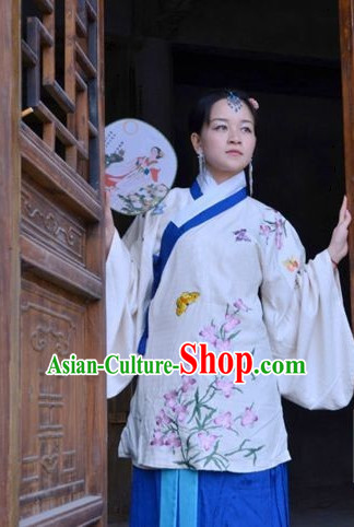 Traditional Chinese Song Dynasty Hanzhuang Free Delivery Worldwide