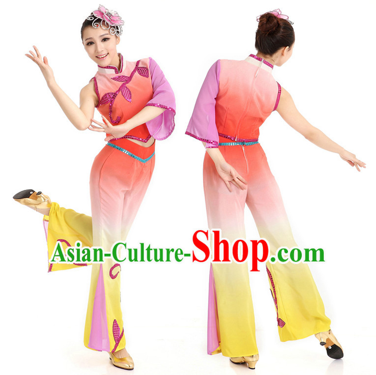 Chinese Traditional Contemporary Dance Dostumes for Women