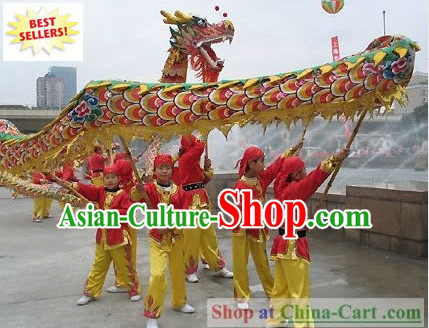 Competition and Parade Dragon Dance Costumes Complete Set for Children