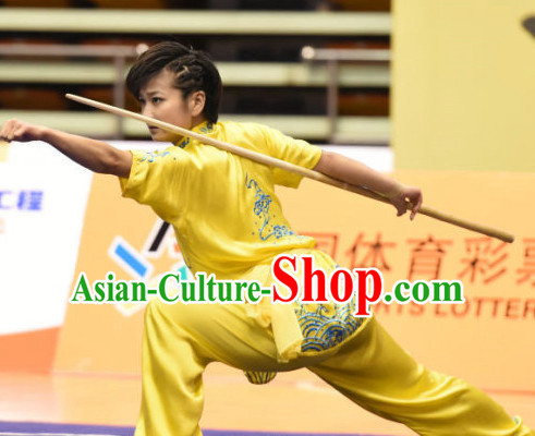 Top Kung Fu Stick Uniforms Kungfu Training Uniform Kung Fu Clothing Kung Fu Movies Costumes Wing Chun Costume Shaolin Martial Arts Clothes for Women
