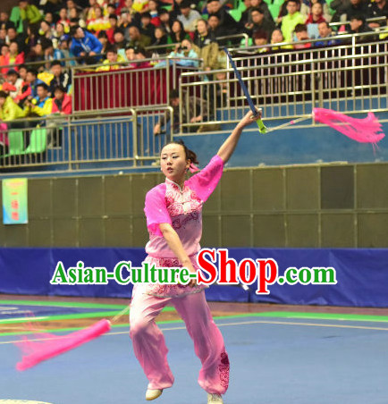 Top Shiny Chinese Kungfu kung Fu Costume Kung Fu Combat Costumes Wing Chun Karate Uniform Kung Fu Competition Suit Martial Arts Costumes