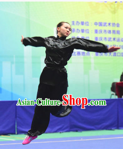 Top Martial Arts Competition Uniform Kung Fu Suit Eagle Fist Mantis Boxing Monkey Fist Gongfu Costumes Complete Set for Women