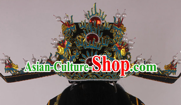 Chinese Traditional Opera Prime Minister Hat for Men