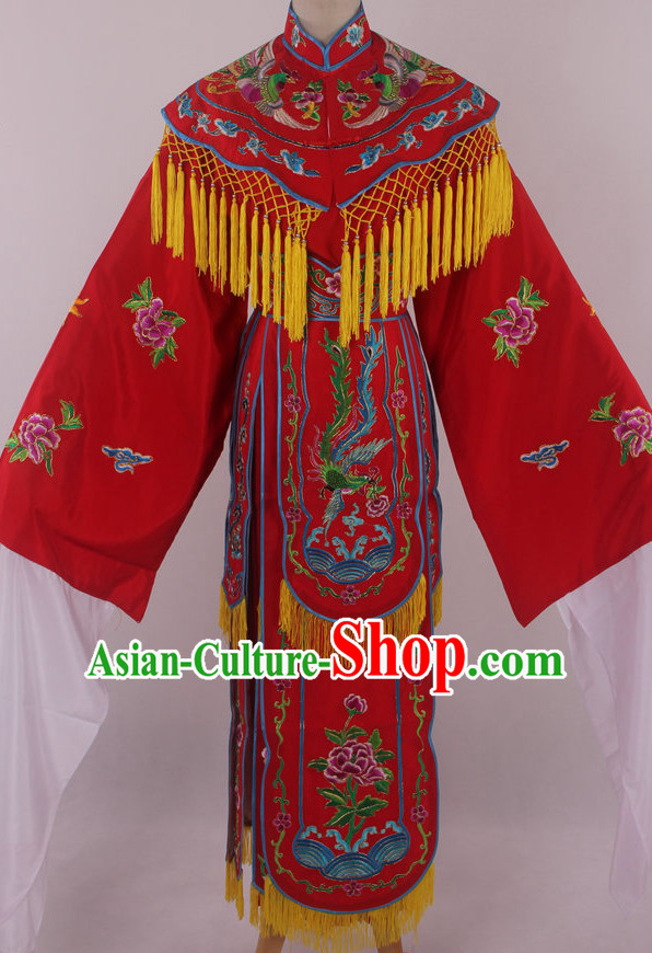 Chinese Beijing Opera Peking Opera Phoenix Costumes for Women