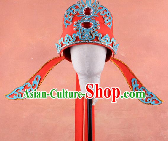 Chinese Traditional Opera Scholar or Bridegroom Wedding Hat