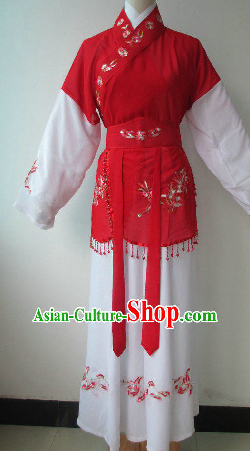 Chinese Opera Costumes Classical Dance Costume Dance Supply Dance Apparel Theatrical Costumes Complete Set for Women