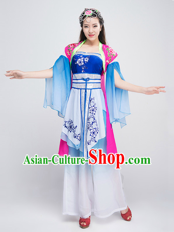 Traditional Chinese Ethnic Suit Complete Set for Women