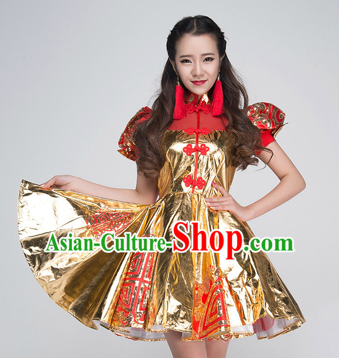 Chinese Professional Drummer Player Competition Dance Costumes for Women