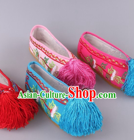 Chinese Opera Hua Tan Shoes