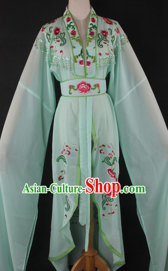 Chinese Culture Chinese Opera Costumes Chinese Cantonese Opera Beijing Opera Costumes Hua Tan Long Sleeves Costumes for Women