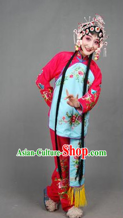 Chinese Culture Chinese Opera Costumes Chinese Cantonese Opera Beijing Opera Costumes Girl Dancewear Costumes
