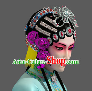 Professional Chinese Opera Hair Accessories Set