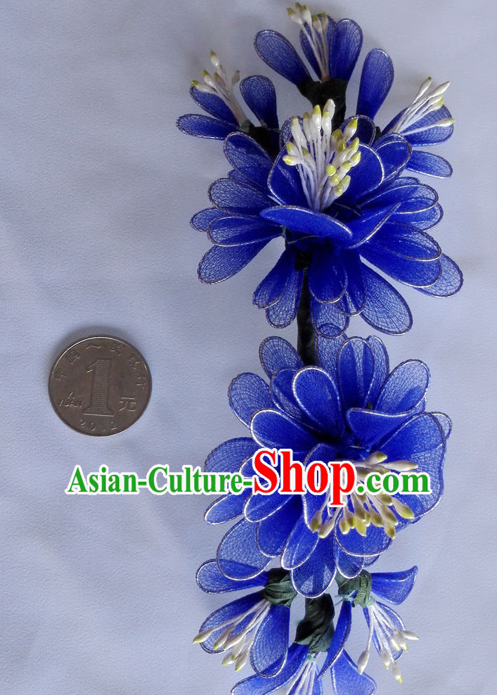 Professional Chinese Hua Tan Opera Hair Accessories