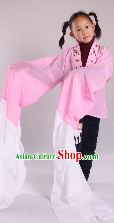 Chinese Culture Chinese Opera Costumes Chinese Cantonese Opera Beijing Opera Costumes Long Sleeve Costumes for Kids