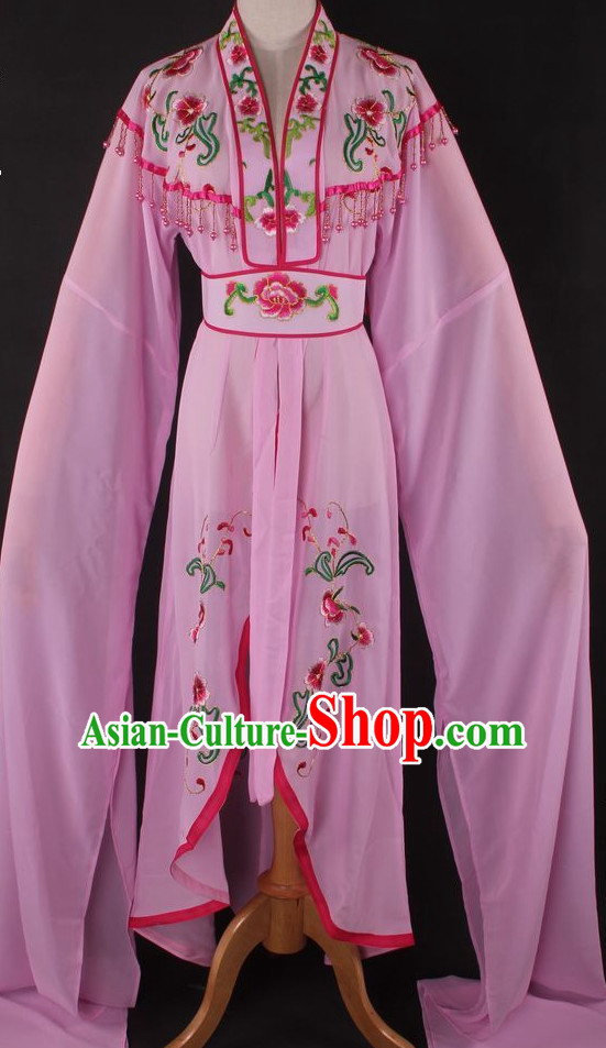 Chinese Culture Chinese Opera Costumes Chinese Cantonese Opera Beijing Opera Costumes Hua Tan Long Sleeve Costumes for Women