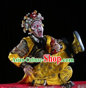 Chinese Theatrical Costume Beijing Opera Costumes Peking Opera Monkey King Costumes and Helmet Complete Set for Men