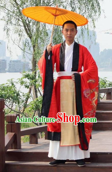 Chinese Traditional Hanfu Dress for Men