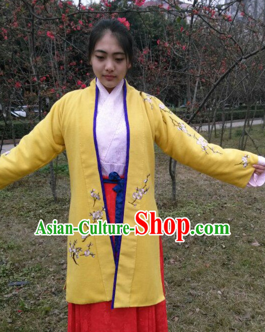 Chinese Traditional Hanfu Dresses for Girls
