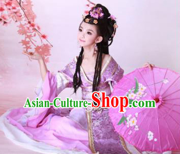 Chinese Princess Kimono Dress and Hair Accessories
