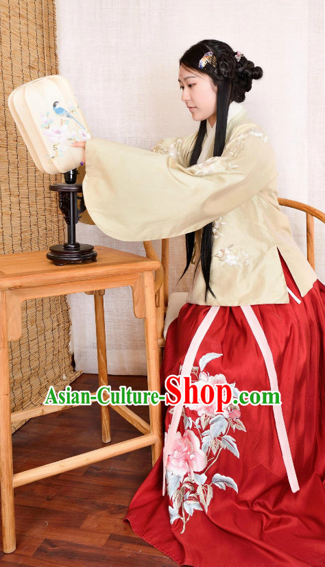 Chinese Hanfu Plus Size Dresses for Women